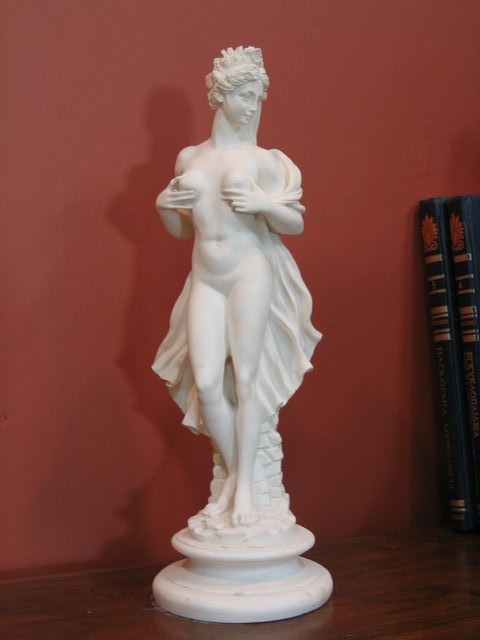 STRIKING BRIDE SCULPTURE STATUE